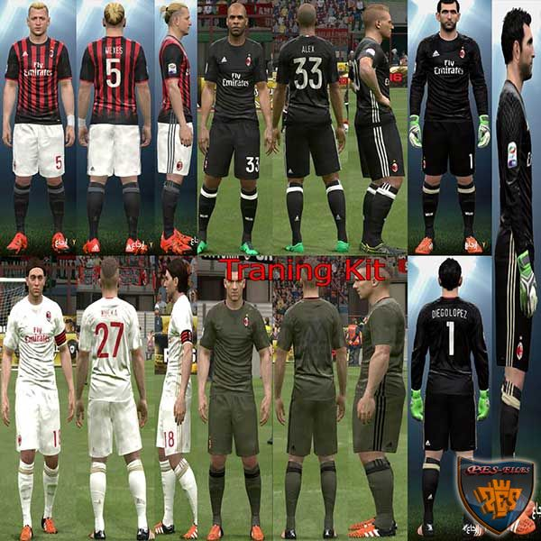 Milan Full KitPack + Traning kit 2017 by YastRin