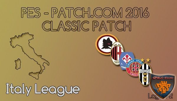 PES Patch 2016 Classic Patch Version 0.2