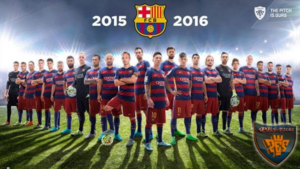 PES 2016 Barcelona Pack ( In 1 Cpk ) by Pes2016Screen