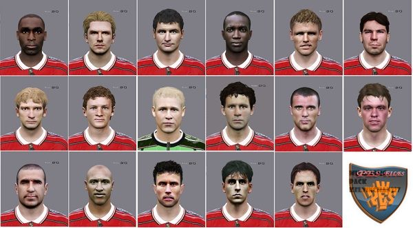 Manchester United Classic Face Pack by Kelvinchan327