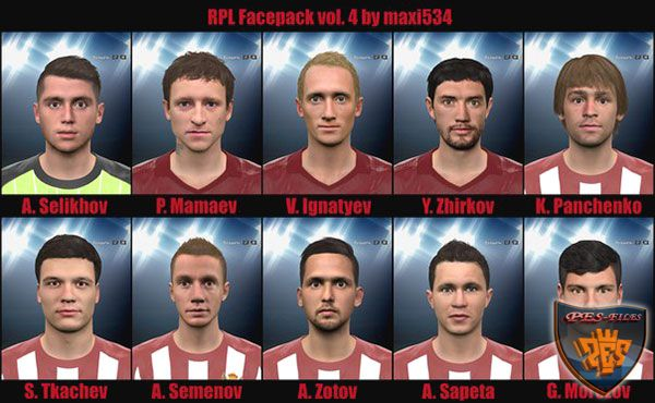 Pes 2016 RPL facepack vol.4 by maxi534
