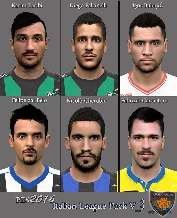 PES 2016 Italian League Pack V_3 By Prince Shieka