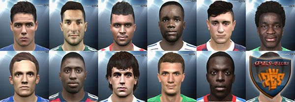 Pes 2016 International facepack №2 by Andrey_Pol