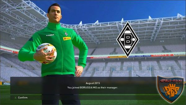 Borussia Park Stadium For PES 2016 by vangheljs