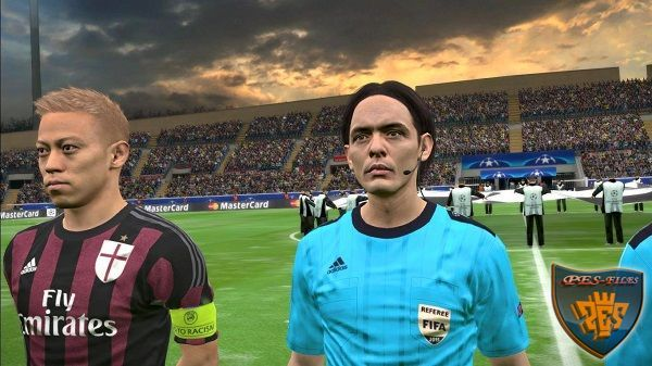 PES 2016 Face Referee Classical Legends by Nyoba