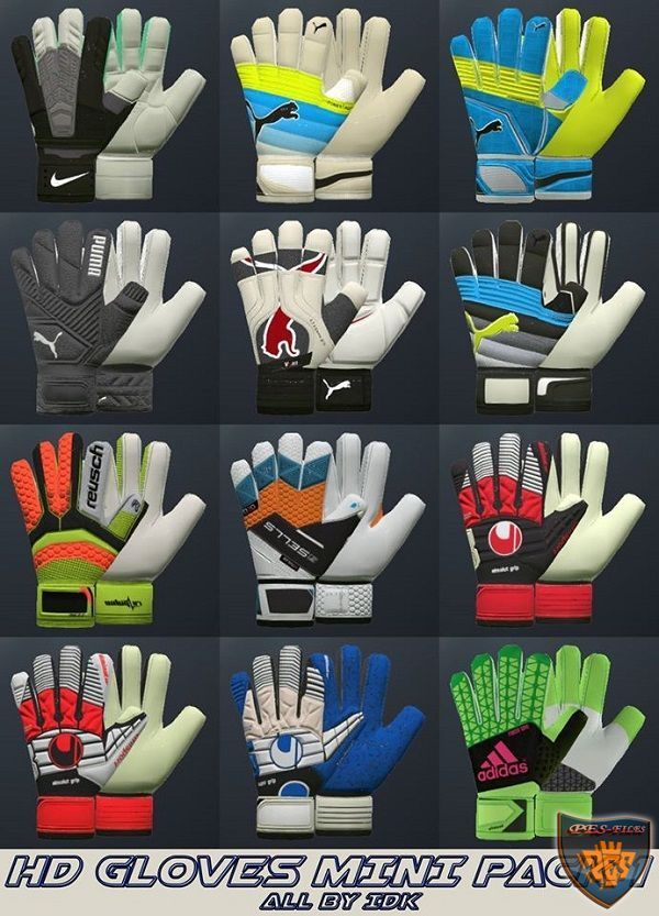 PES 2016 HD Gloves Mini Pack 1 by idk