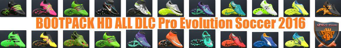 PES 2016 HD Bootpack All DLC Konami