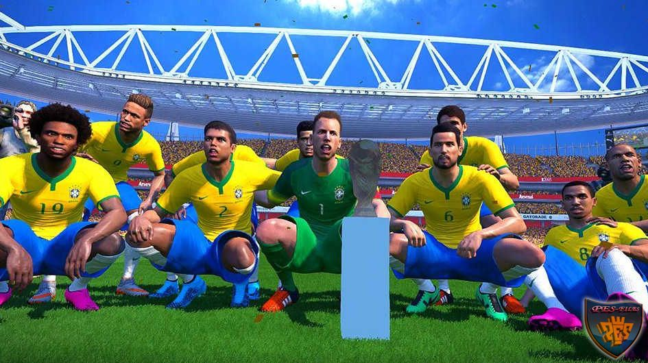 PES 2016 Real World Cup Trophy (Test) by Metalex