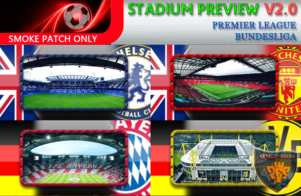 PES 2016 Stadium Previews Pack Vol. 2.0 by fifacana