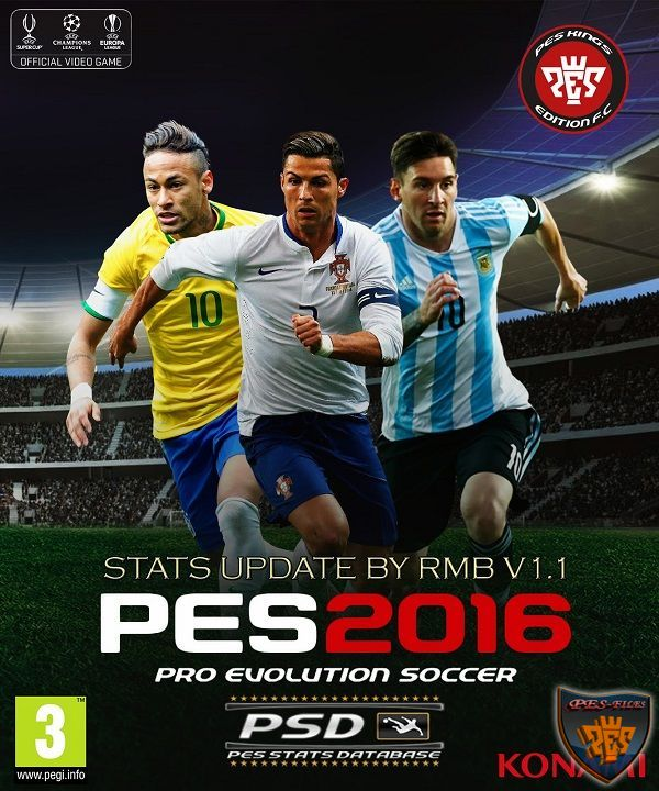 PES 2016 PSD Stats for PTE 4.1 (V1.1) by RMB