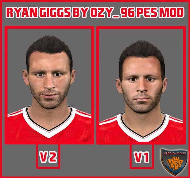 Pes 2016 Ryan Giggs Face by Ozy_96 Pes Mod