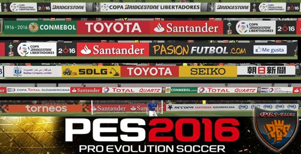 Pes 2016 Adboard Pack v1.3 Completed Euro 2016/UEFA CL Update