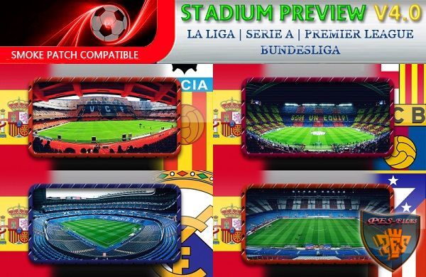 PES 2016 Stadium Previews Pack Vol. 4.0 by fifacana