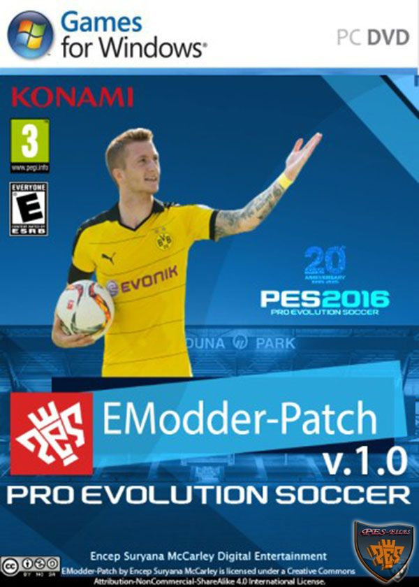 PES 2016 EModder-Patch v.1.0 (All In One)