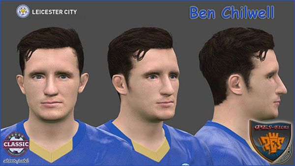 Pes 2016 Ben Chilwell (Leicester City) Face