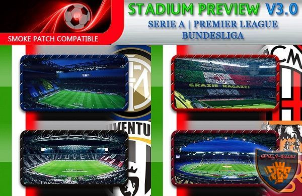 PES 2016 Stadium Previews Pack Vol. 3.0 by fifacana
