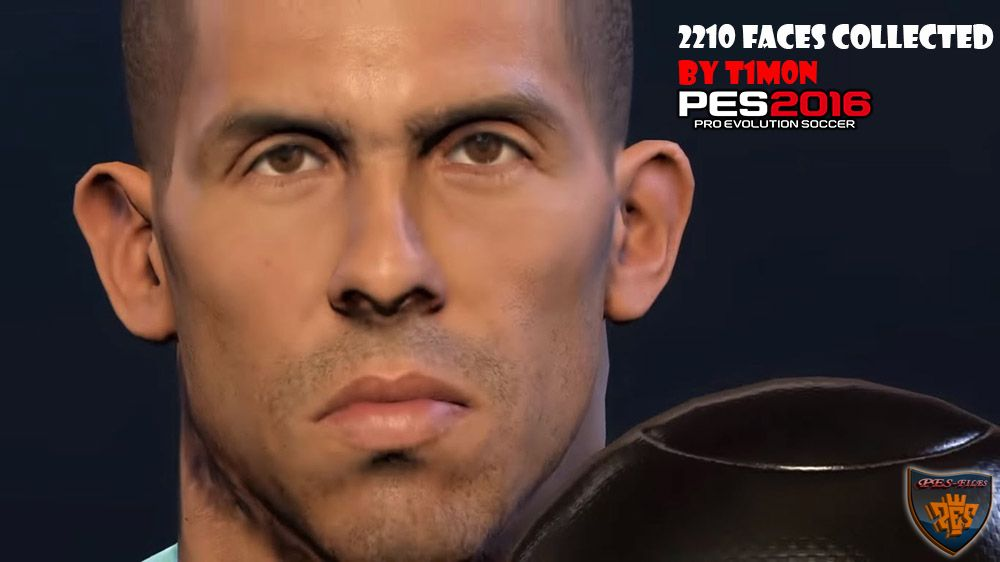 PES 2016 - 2210 Faces Collected by T1m0n
