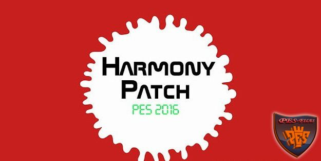 PES 2016 Harmony Patch Version 1.00 - турецкий патч