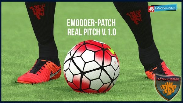 PES 2016 EModder Patch Real Pitch v.1.0
