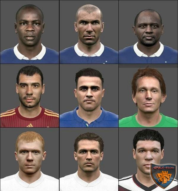 PES 2016 Face Pack Classic by Dayu Ardiyanto