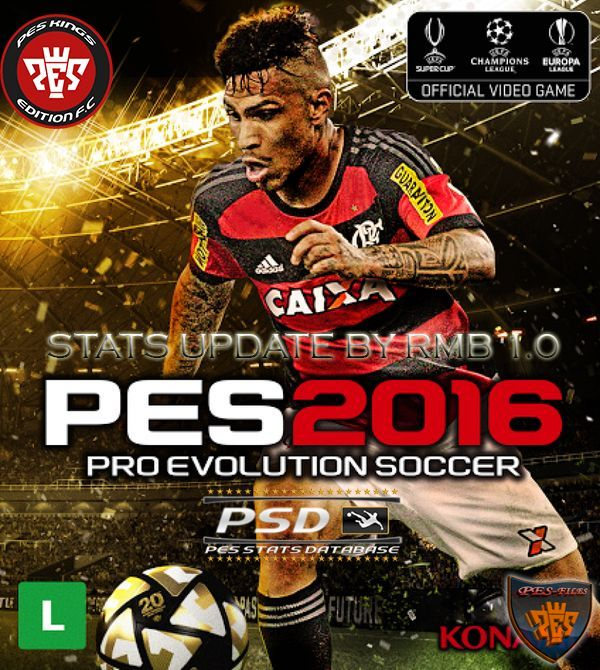 Pes 2016 PSD Stats for PTE 4.1 (V1.0) by RMB