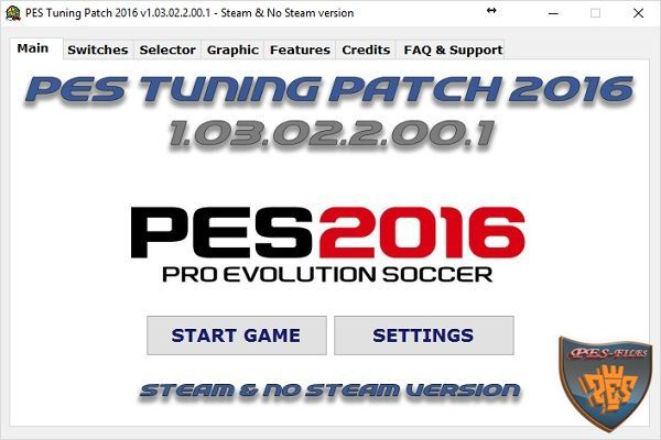 PES 2016 PC PES Tuning Patch 2016 v1.03.02.2.00.1