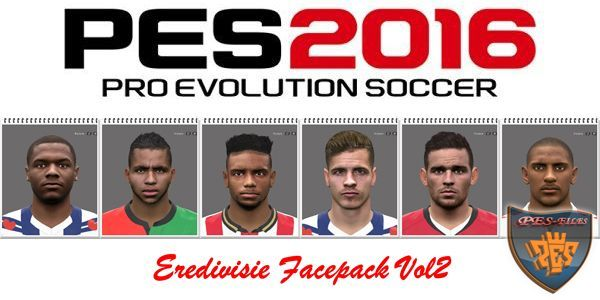 PES 2016 Eredivisie Facepack Vol2 by Professional