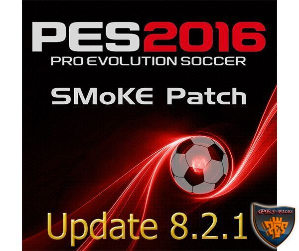 PES 2016 SMoKE Patch Update 8.2.1(EPL)