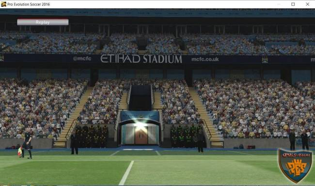 Арена Etihad Stadium в Pes 2016