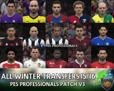 Стадионы PES 2016 PESProfessionals Patch V3