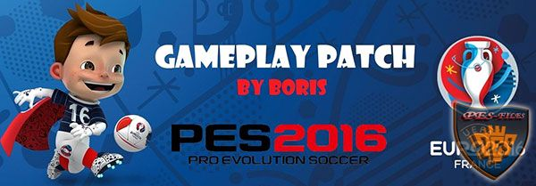 PES 2016 Gameplay Patch v1.00 (Patch 1.04)