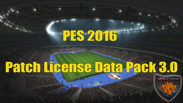 PES 2016 Patch License Data Pack 3.0 by peslover