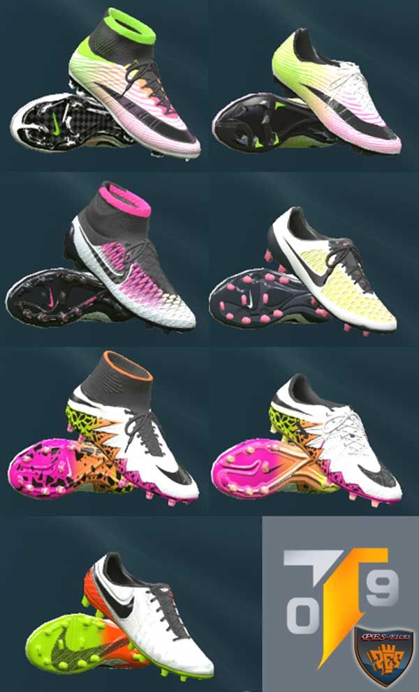 PES 2016 Nike 2016 Radiant Boot Pack by Tisera09
