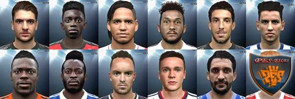 Pes 2016 International Facepack №5