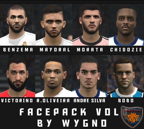 PES 2016 Facepack Vol.6 by Wygno