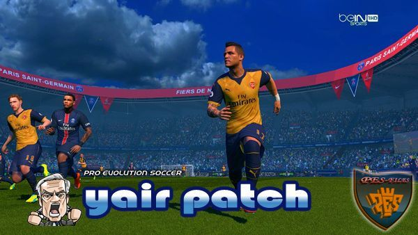 PES 2016 Core Gameplay Patch V 2.5 (30.3.16) by Yair