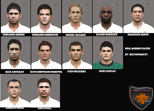 PES 2016 Real Madrid Classic Face Pack