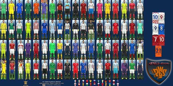PES 2016 Euro 2016 Kit v.5.1 by MT Games 1991