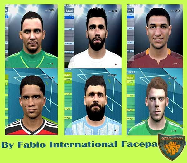 PES 2016 International Face Pack vol. 9