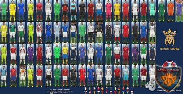 PES 2016 Euro 2016 Kit Pack v.6 by MT Games