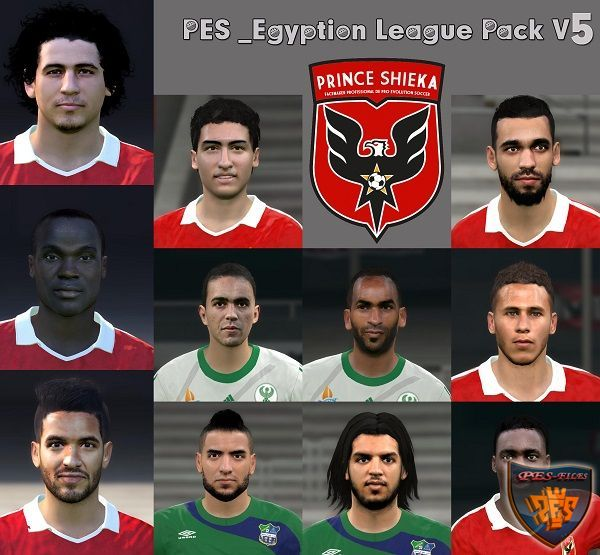 PES 2016 Egyption League Pack V5 by Prince Shieka
