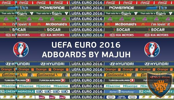 Adboard Pack v1.4 UEFA Euro 2016 Compatible With New DLC 3.0