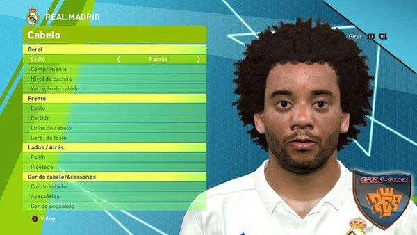 Pes 2016 Marcelo Face by Lucas