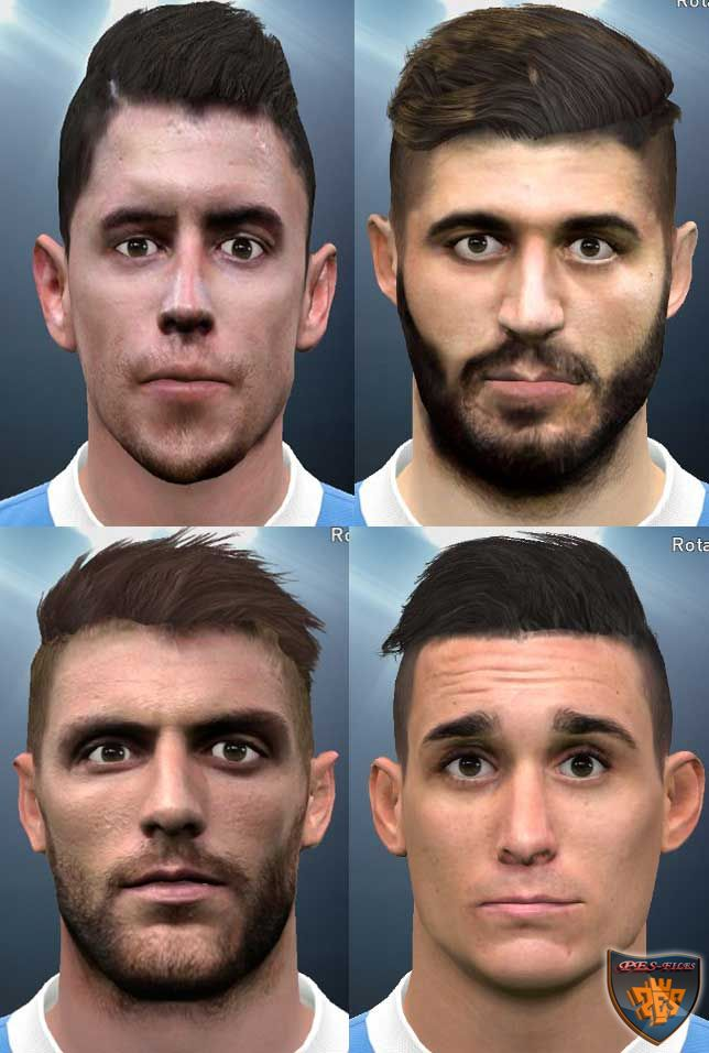 Pes 2016 Napoli Facepack by siuhangtam