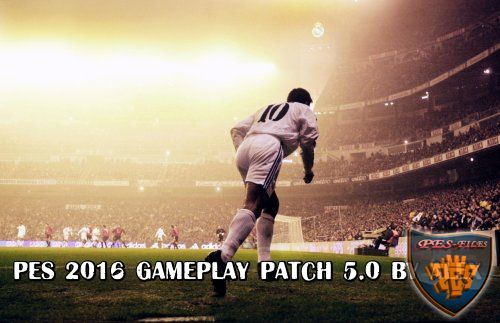 Pes 2016 Gameplay Patch 5.0 by Alex