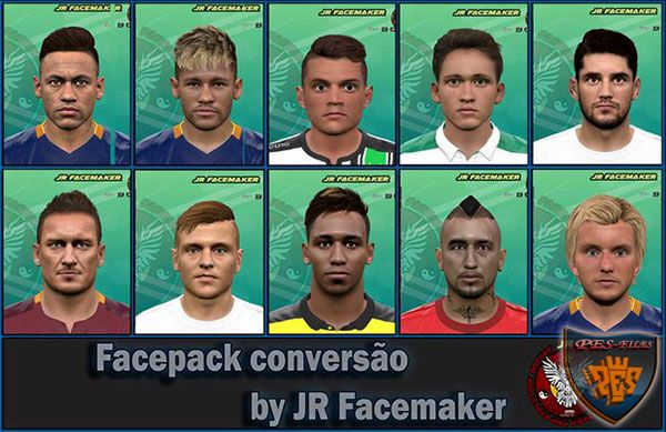 Pes 2016 Faces converted For FIFA 16