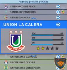 Union La Calera PES 2016 Patch License