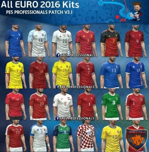 Формы Евро Pes 2016
