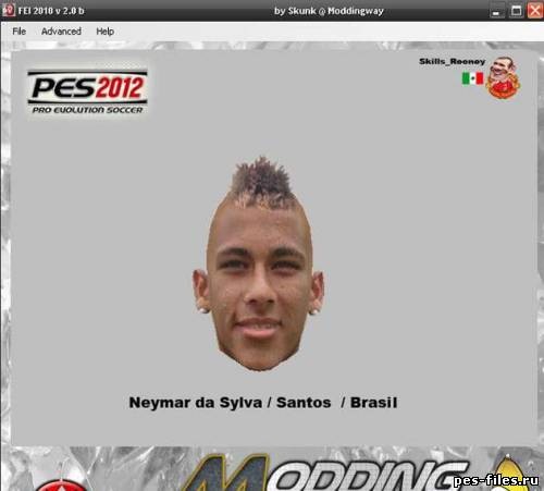 SeleÇÃo Brasileira Facepack патчи и моды: Neymar Da Sylva / Santos Brasil, патчи и моды