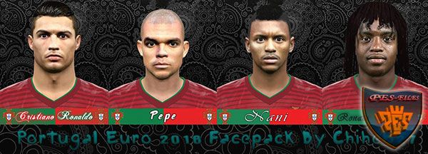 PES 2016 Portugal Euro 2016 Facepack